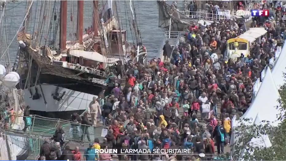 (Français) CamTrace, cœur vidéo du dispositif sécuritaire de l'Armada 2019