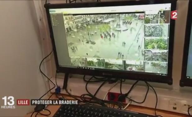 CamTrace surveille la braderie de Lille